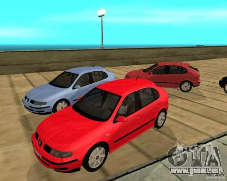 Seat Leon 1.9 TDI pour GTA San Andreas