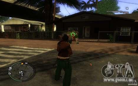 Vue v1 pour GTA San Andreas troisième écran