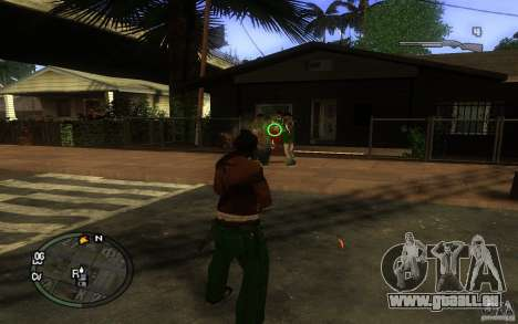 Anblick-v1 für GTA San Andreas dritten Screenshot