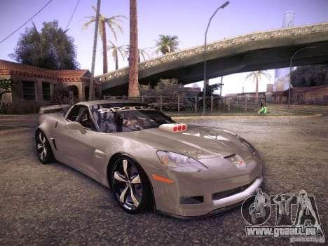 Chevrolet Corvette C6 Z06 Tuning pour GTA San Andreas