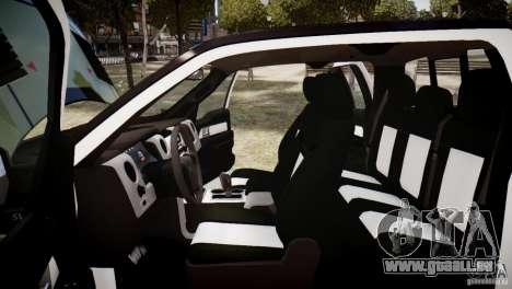 Ford F150 SVT Raptor 2011 UNSC pour GTA 4 est un côté