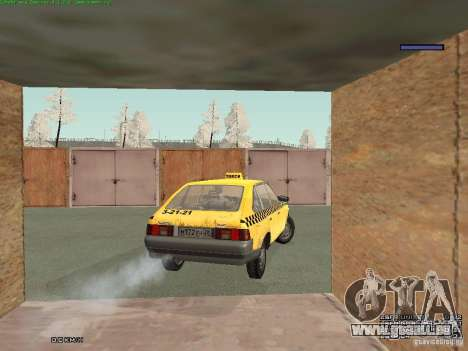 2141 Moskvitch AZLK Taxi v2 pour GTA San Andreas moteur