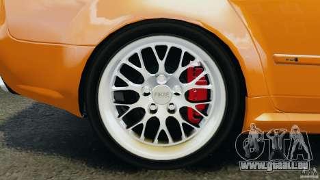 Audi RS4 EmreAKIN Edition pour GTA 4 vue de dessus
