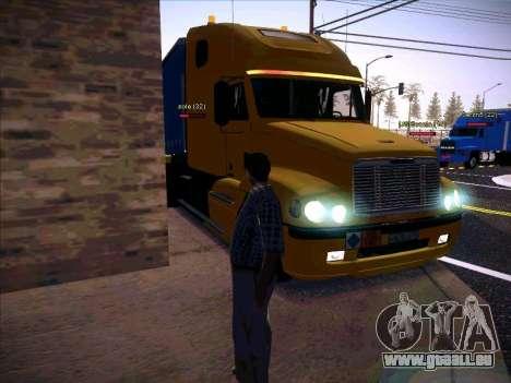 Freightliner Century Classic pour GTA San Andreas vue de côté