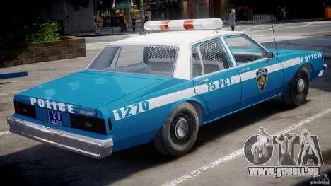 Chevrolet Impala Police 1983 v2.0 für GTA 4 rechte Ansicht
