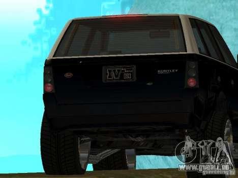 Huntley dans GTA IV pour GTA San Andreas vue de droite