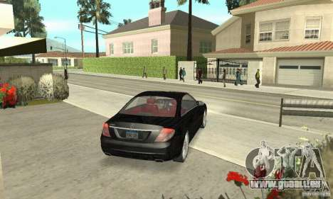 Mercedes-Benz CL500 pour GTA San Andreas laissé vue