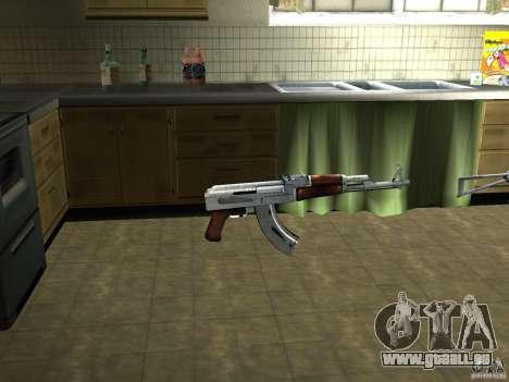 Pak inländischen Waffen Version 3 für GTA San Andreas zweiten Screenshot