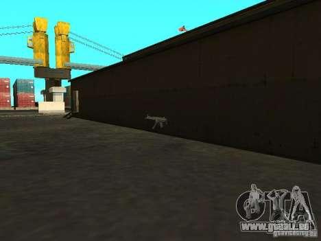Renouvellement de la base militaire sur les quai pour GTA San Andreas septième écran