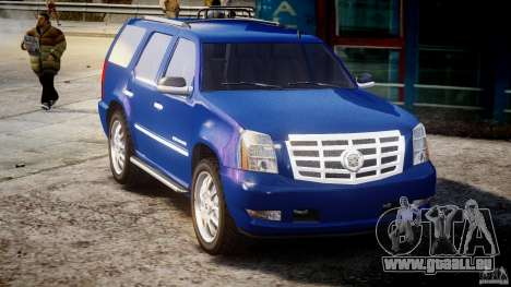 Cadillac Escalade [Beta] pour GTA 4 est une vue de l'intérieur