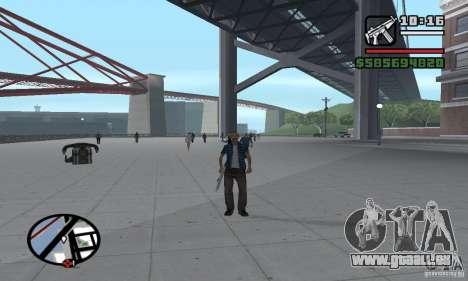 Réincarnation dans un habitant de la ville pour GTA San Andreas sixième écran