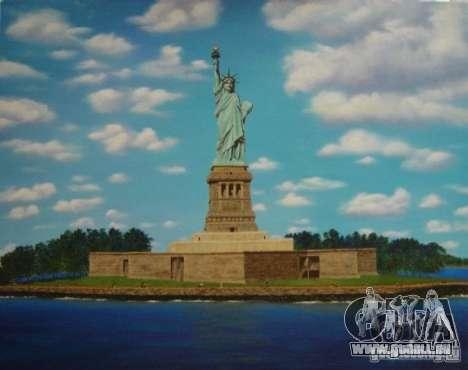 La Statue de la liberté pour GTA San Andreas troisième écran