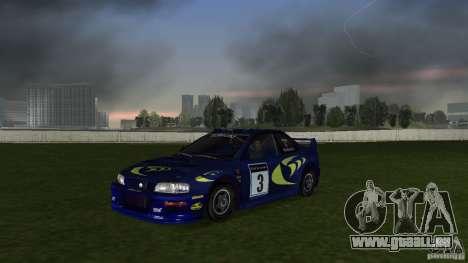 Subaru Impreza 22B Rally Edition pour GTA Vice City