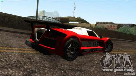 Gumpert Apollo für GTA San Andreas Motor