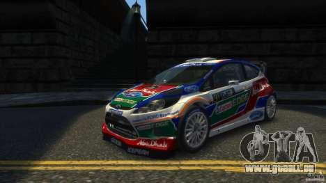 Ford Fiesta RS WRC pour GTA 4 est une gauche