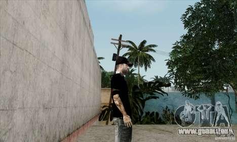 Peau sur Bmydrug pour GTA San Andreas troisième écran
