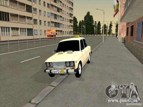 VAZ 2106 Taxi für GTA San Andreas
