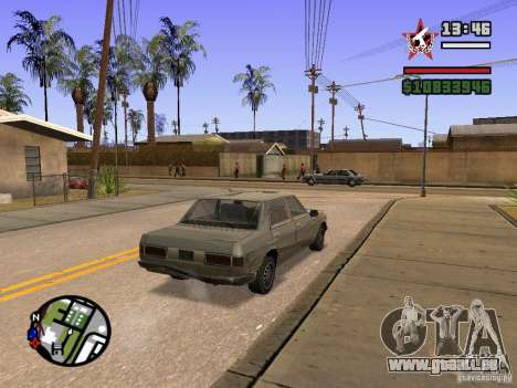 ENBSeries für GForce 5200 FX v3. 0 für GTA San Andreas dritten Screenshot