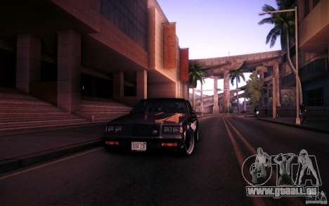Buick Regal GNX pour GTA San Andreas vue de côté