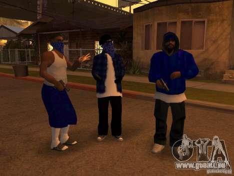 Crips Gang pour GTA San Andreas