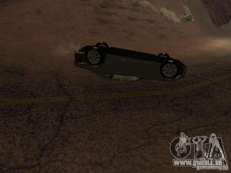Voitures renversées ne brûlent pas pour GTA San Andreas cinquième écran