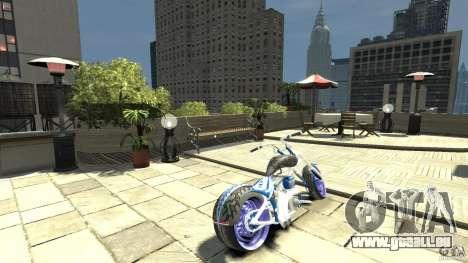 The Chopper pour GTA 4 Vue arrière de la gauche