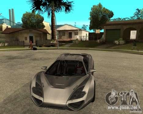 Nemixis pour GTA San Andreas vue arrière