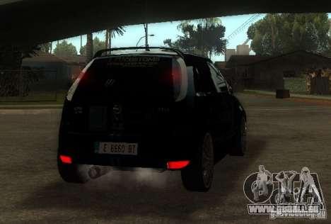 Opel Corsa GSI Rally pour GTA San Andreas sur la vue arrière gauche