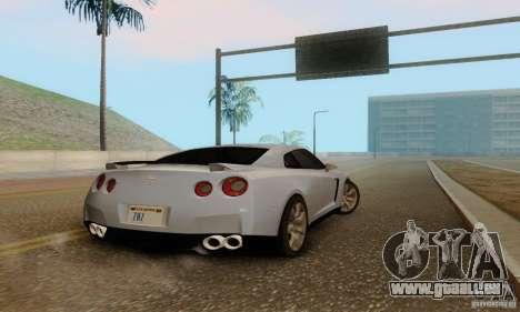 Nissan GT-R pour GTA San Andreas vue arrière