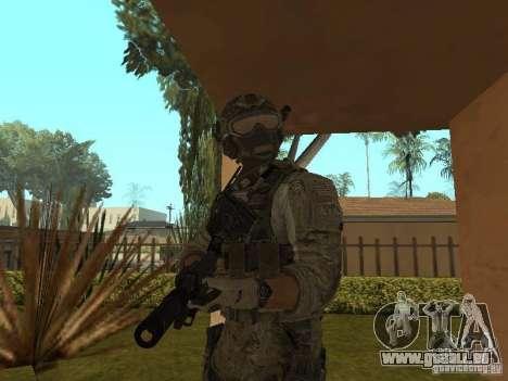 M4A1 avec ACOG de CoD MW3 pour GTA San Andreas troisième écran