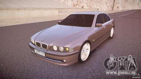 BMW 530I E39 stock white wheels pour GTA 4