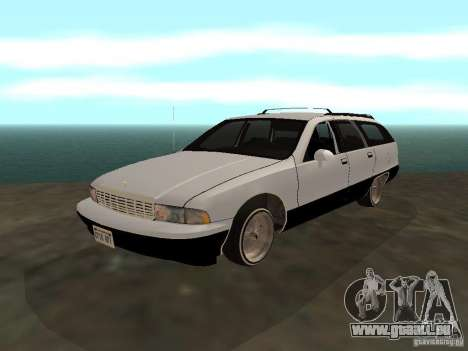 Chevrolet Caprice Wagon 1992 pour GTA San Andreas