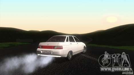 Drain de Vaz 2110 pour GTA San Andreas sur la vue arrière gauche