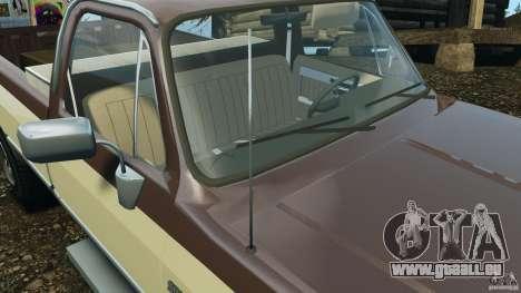 Chevrolet Silverado 1986 pour le moteur de GTA 4