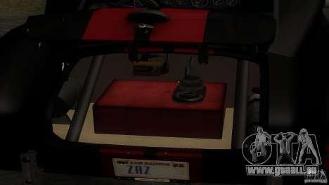 Shelby Cobra Dezent Tuning pour GTA San Andreas vue de côté