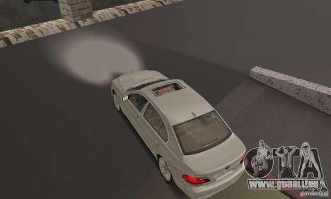 Phares blancs lumineux pour GTA San Andreas deuxième écran