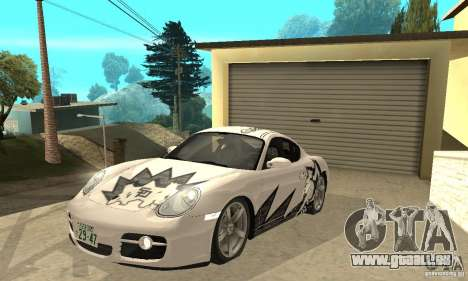 Porsche Cayman S pour GTA San Andreas salon