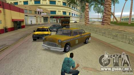 Cabbie HD für GTA Vice City
