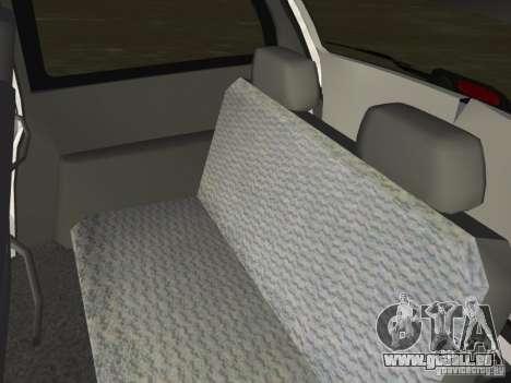 Dodge Grand Caravan für GTA Vice City Innenansicht