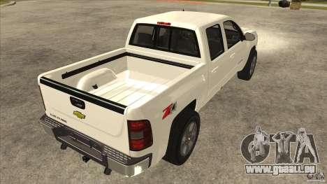 Chevrolet Cheyenne 2011 für GTA San Andreas rechten Ansicht