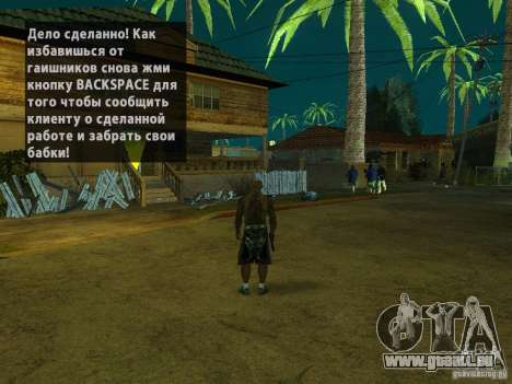 Killer Mod pour GTA San Andreas quatrième écran