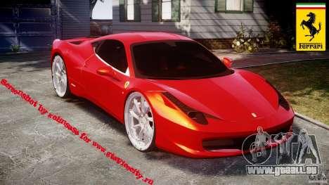 Ferrari 458 Italia Dub Edition pour GTA 4