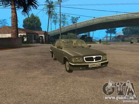 GAZ 3110 v 2 pour GTA San Andreas