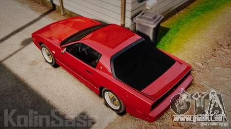 Pontiac Firebird Trans Am GTA 1987 [EPM] pour GTA 4 est un droit