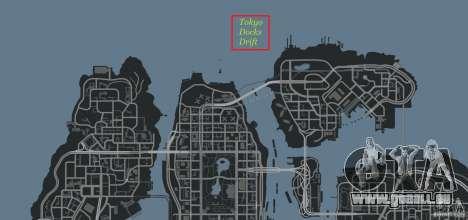Tokyo Docks Drift für GTA 4 elften Screenshot
