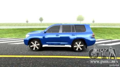 Toyota Land Cruiser 200 RESTALE pour GTA 4 est une gauche