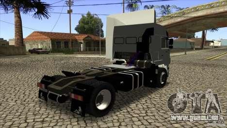 KAMAZ 5460 Euro 3420 Turbo pour GTA San Andreas vue de droite