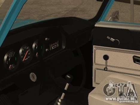 2140 AZLK v2 pour GTA San Andreas vue arrière