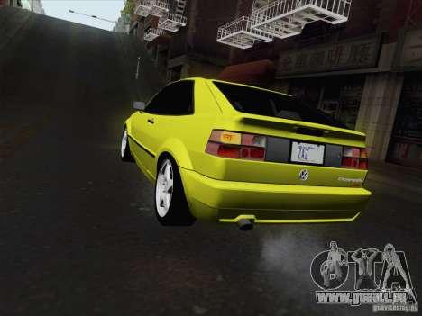 Volkswagen Corrado 1995 pour GTA San Andreas laissé vue