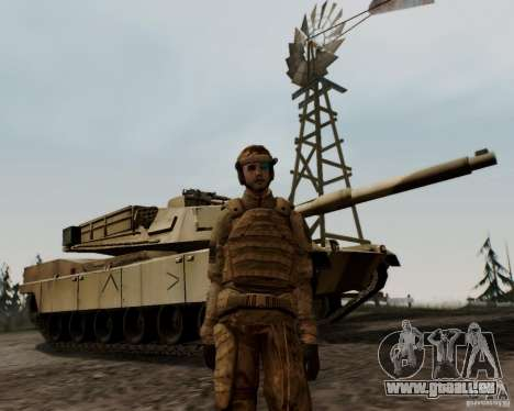 Tom Clancys Ghost Recon pour GTA San Andreas